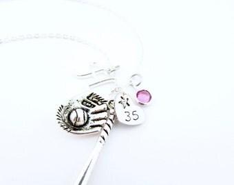Softball Necklace, Softball Gifts, Girls Softball Gift, Gifts for Softball, Softball Jewelry, Softball Player