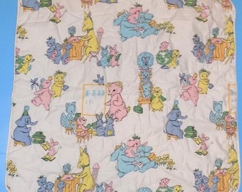 Vintage Baby Crib Quilt