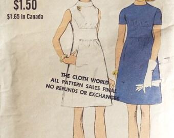 An evening at the choir concert women's dress Vogue dress pattern 7720