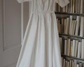 Vintage Christening Gown, Baptism Dress, Vintage Baptism Gown, Vintage Baby Gown, Antique Baby Gown