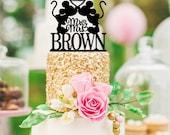 Wedding Cake Topper - Mickey Wedding Cake Topper - Mickey and Minnie Cake Topper