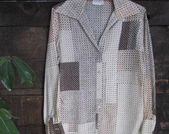 SALE!!! Vintage, Women's, Adelaar Button-Down Blouse