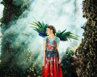 Fairy Garden - maxi dress