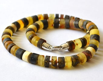 Amber, Amber necklace, amber gift, Amber jewelry, fossil necklace, healing necklace