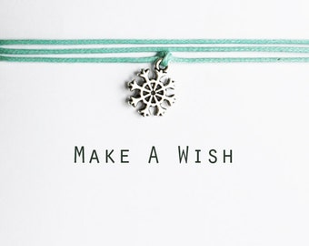 Make A Wish Snowflake Bracelet