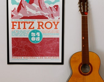 Fitz Roy silkscreen prints