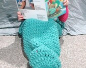 Mermaid Tail Blanket Ready to Ship