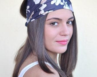 Florar Headband, Purple Headband, Bohemian Headband, Hair Accessories, Womens Accessories, Womens Turban, Womens Headband, Vintage Headbands