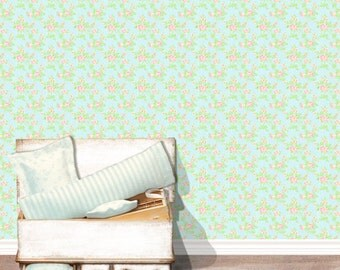 Wallpaper and fabric 1:12 for dollhouses