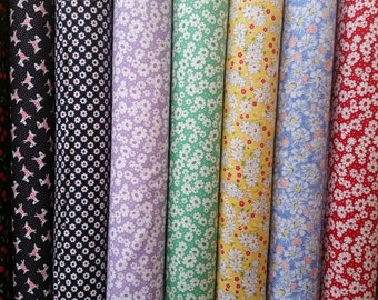 Moda 30's Playtime Fabric Bundle- 9 Fabrics