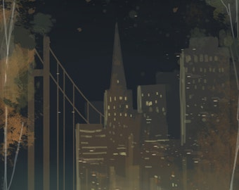 San Francisco Love Print