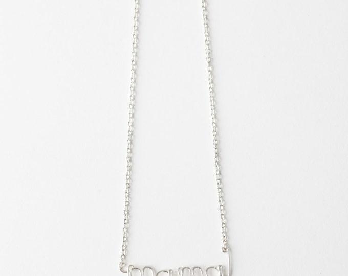 Mama Necklace (Silver)