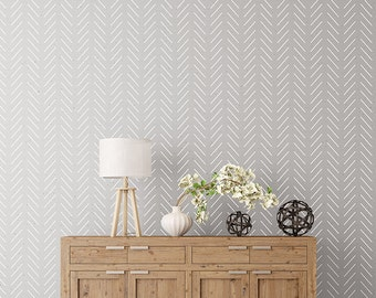 Scandinavian wall stencils by stencilit on etsy Scandinavian wallpaper and decor