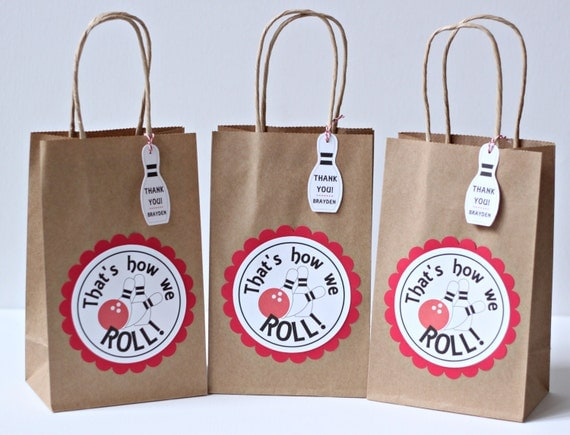 Bowling Party Favors Bowling Party Bags Bowling By