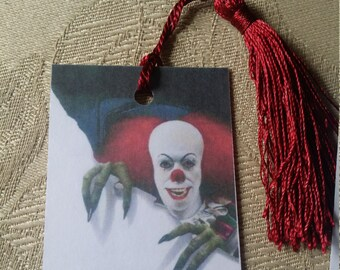 Stephen King's IT bookmark