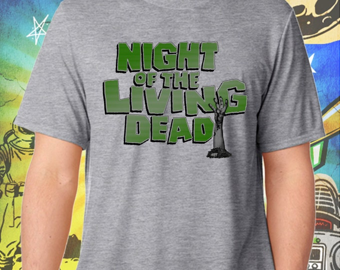 Classic Night of the Living Dead Men's T-Shirt George Romero's Zombie Tshirt