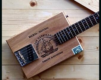 Cigar Box Guitar - Six-String Electric