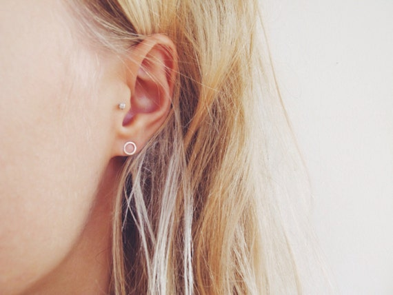 How To Make Paper Earrings Studs