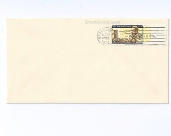 Dag Hammarskjold Invert Error First Day of Issue Postmark Brooklyn, N.Y.  Oct 23, 1962