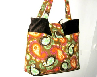 PAISLEY BAGS, TOTES, Paisley Purses, Handbags, Purses, Market Bags, Shoulder Bags, Ready To Ship
