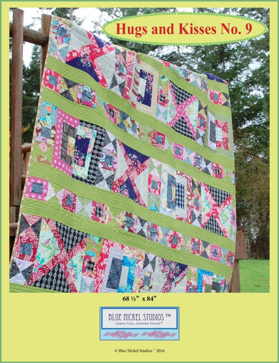 Hugs & Kisses No. 9 Quilt Pattern