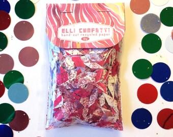 """Hand-cut Recycled Paper Confetti, Pink and Purple Confetti - Elli Confetti - """"Perfect Party Princess"""""""