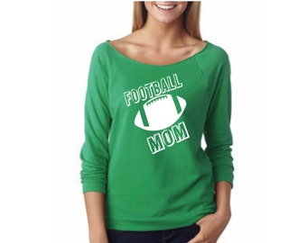 Football mom shirt/ Football shirt for mom