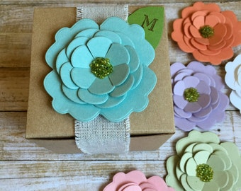 6 ~ Bridal Party Invites, Will you be my Bridesmaid?, Thank You Bridesmaid Boxes, Wedding Party Invitations