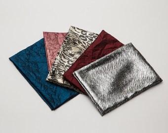 Elegant Reusable Fabric Gift Wrap Set