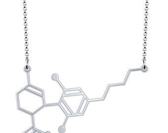 CBD Necklace - Silver