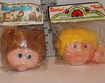 Sweet Dream Darice Doll  Head and Hands 3 3/4""