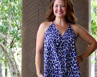 Women Sewing Pattern, PDF pattern Swing Dress, tunic pattern, Seamingly Smitten, swing dress for women sewing pattern