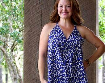 Womens Swing Dress PDF Sewing Pattern Seamingly Smitten, Swing Dress for Women pdf Sewing Pattern sizes XS-XXXL