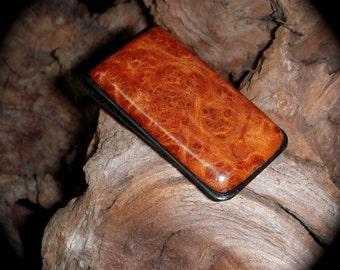 Redwood Lace Burl Money Clip - Money Holder - Gift for Dad - Money Organizer - Wallet