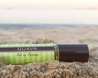 GUAVA || Roll on Perfume || Birthday Gift for Her || Long lasting perfume || vegan perfume || Gift for Mom
