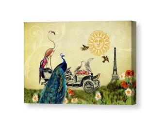 Whimsical Wall Art canvas wall art | etsy