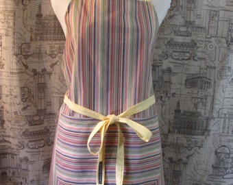 Yellows and Stripes Apron