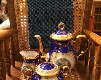 NEW ITEM: 3 Piece Bavarian China Coffee Set