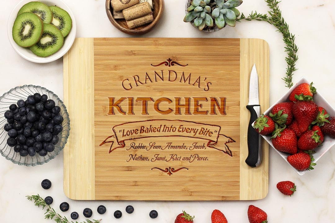 Bamboo Cutting Board Etsy, Kitchen Ideas