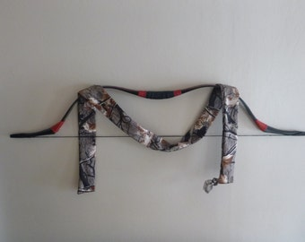 Custom Fleece Bow Sock. Handmade, Made to Order. For Traditional bows - longbow recurve reflex deflex. bow sleeve bow case