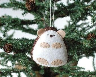 PDF Pattern - Little Hedgehog, Woodland Felt Ornament Pattern, Felt Toy Pattern, Softie Pattern