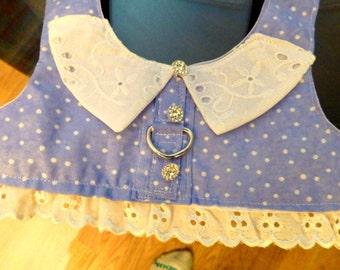 BLUE LAVENDER DOGGIE Vest/Harness