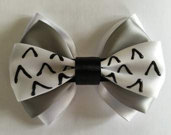 Inspired Totoro Hair Bow
