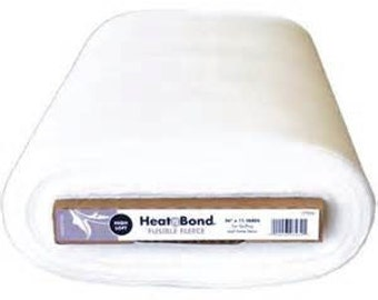 Heat n Bond High loft fusible iron on fleece for bag making sewing and craft per metre uk seller
