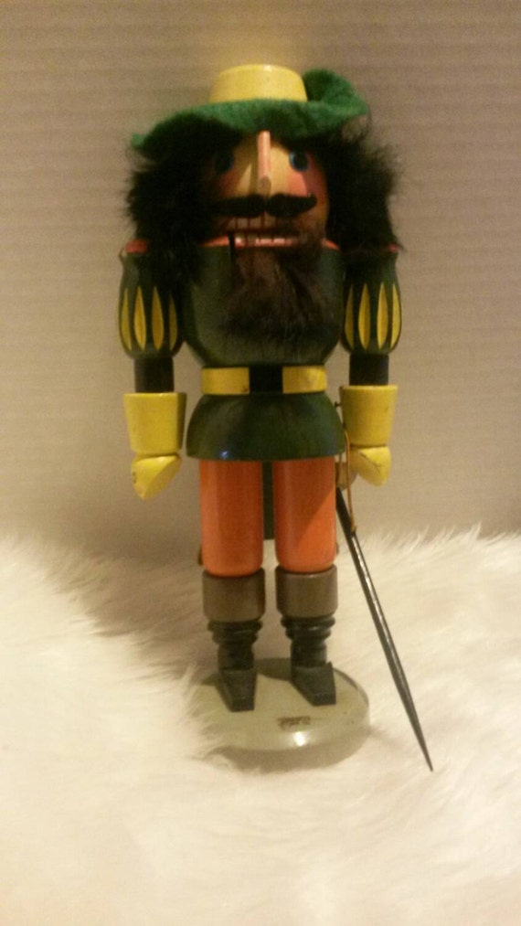 Vintage German Three Musketeer Nutcracker