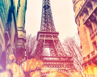 Eiffel Tower photography, Paris print, Paris poster, Paris wall art, living room decor, digital print, wall decor, Paris photography, travel