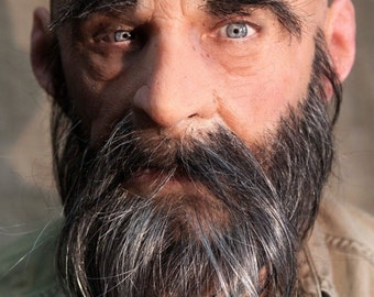 """NEW HandMade, Pro Silicone Mask Old Man """"Wilhelm"""" High Quality,"""