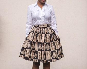 Rebecca Midi Skirt