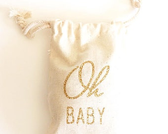 Baby shower favors- Custom colors- Baby shower- Glitter Oh Baby
