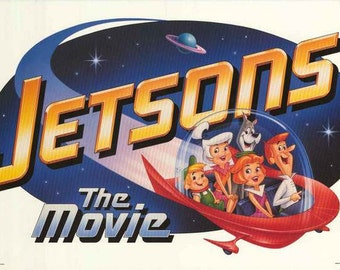 The Jetsons 1990  Vintage Poster